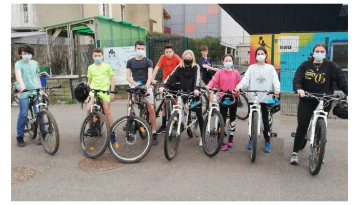 AS Saint Joseph : première séance de «bike and run»